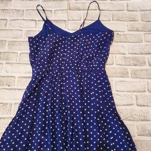J. Crew Dresses - J. Crew Polka Dot Silk Midi Dress